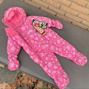 NEW Gusti Infant One-Piece Snowsuit